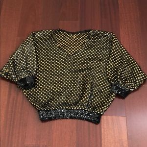 Tops - Did someone say Vegas??? Vintage sequined top